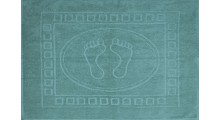 Коврик махровый с  рисунком (жаккард, ножки) 50х70