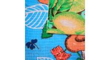 Вафельное полотенце набивное с рисунком 45х70 пл 170
