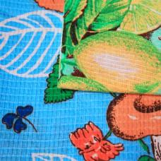 Вафельное полотенце набивное с рисунком 80х100 пл 170